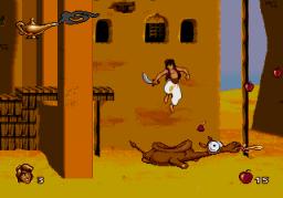 Aladdin (SMD)  © Virgin 1993   3/4