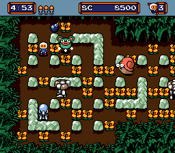 Mega Bomberman (SMD)  © Hudson 1994   3/3