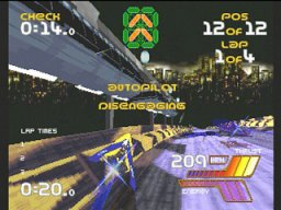 Wipeout 2097 (SS)   © Psygnosis 1997    3/4