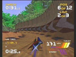 Wipeout 2097 (SS)   © Psygnosis 1997    4/4