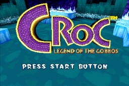 Croc: Legend Of The Gobbos (SS)   © Fox Interactive 1997    1/1