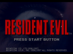 Resident Evil (SS)  © Capcom 1997   1/11