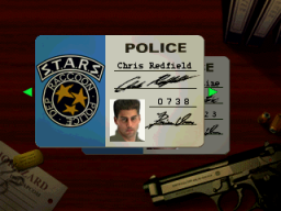 Resident Evil (SS)  © Capcom 1997   2/11