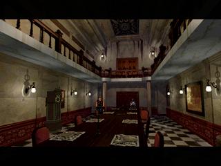 Resident Evil (SS)  © Capcom 1997   4/11