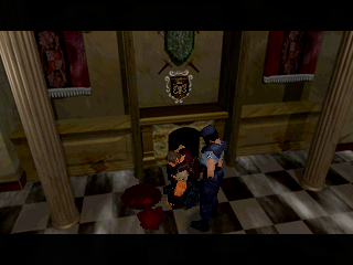 Resident Evil (SS)  © Capcom 1997   6/11