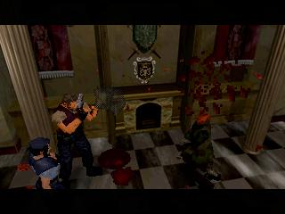 Resident Evil (SS)  © Capcom 1997   8/11