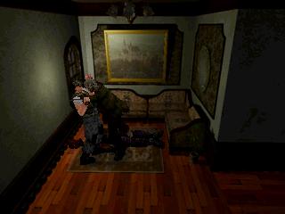 Resident Evil (SS)  © Capcom 1997   10/11
