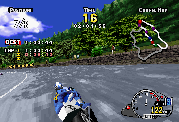 Manx TT SuperBike (SS)  © Sega 1997   6/6