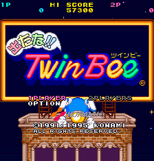 Detana TwinBee Yahho! Deluxe Pack (SS)  © Konami 1995   5/6