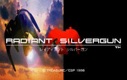Radiant Silvergun (SS)  © ESP 1998   1/11
