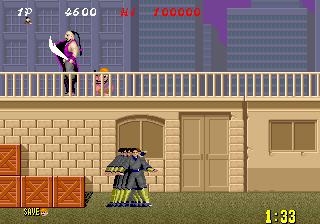 Shinobi (ARC)  © Sega 1987   5/6