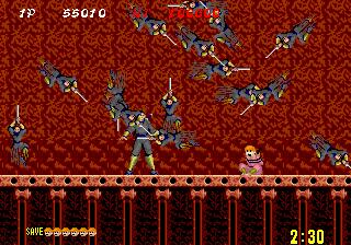 Shinobi (ARC)  © Sega 1987   6/6
