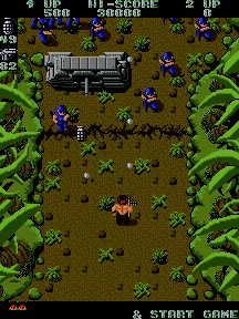 Ikari Warriors (ARC) &nbsp; &copy; SNK 1986 &nbsp;  2/3