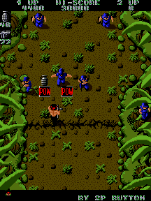 Ikari Warriors (ARC) &nbsp; &copy; SNK 1986 &nbsp;  3/3