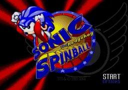 Sonic Spinball (SMD)  © Sega 1993   1/4