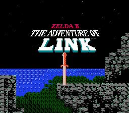 Zelda II: The Adventure Of Link (NES)  © Nintendo 1988   1/3