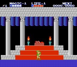 Zelda II: The Adventure Of Link (NES)  © Nintendo 1988   2/3