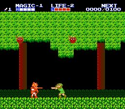 Zelda II: The Adventure Of Link (NES)  © Nintendo 1988   3/3