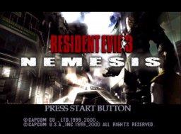 Resident Evil 3: Nemesis  © Capcom 2000  (DC)   1/3