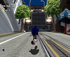 Sonic Adventure 2 (DC)  © Sega 2001   8/14