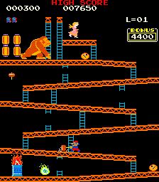 Crazy Kong (ARC)  ©  1981   2/4