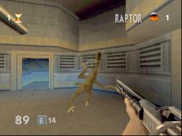 Turok: Rage Wars (N64)  © Acclaim 1999   3/3