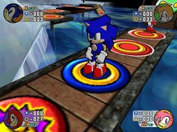 Sonic Shuffle (DC)  © Sega 2000   1/4