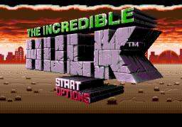 The Incredible Hulk (SMD)  © U.S. Gold 1994   1/4