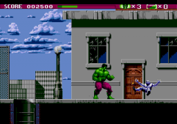 The Incredible Hulk (SMD)  © U.S. Gold 1994   3/4
