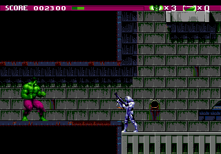 The Incredible Hulk (SMD)  © U.S. Gold 1994   4/4
