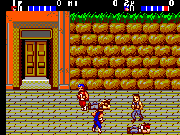 Double Dragon (SMS)   © Sega 1988    3/3