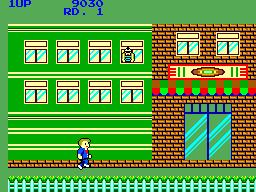 My Hero (SMS)  © Sega 1986   3/6