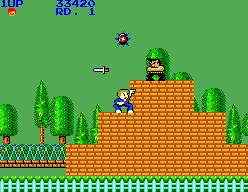 My Hero (SMS)  © Sega 1986   5/6