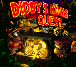 Donkey Kong Country 2: Diddy's Kong Quest (SNES)   © Nintendo 1995    1/3