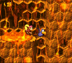 Donkey Kong Country 2: Diddy's Kong Quest (SNES)   © Nintendo 1995    3/3