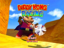 Diddy Kong Racing   © Nintendo 1997   (N64)    1/3