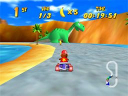 Diddy Kong Racing   © Nintendo 1997   (N64)    2/3