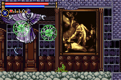 Castlevania: Circle Of The Moon (GBA)   © Konami 2001    2/9