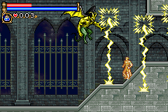 Castlevania: Circle Of The Moon (GBA)   © Konami 2001    5/9