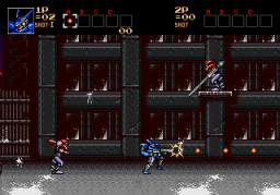 Contra: Hard Corps (SMD)  © Konami 1994   2/8