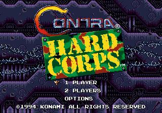 Contra: Hard Corps (SMD)  © Konami 1994   4/8
