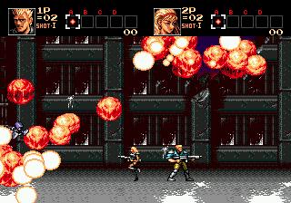 Contra: Hard Corps (SMD)  © Konami 1994   5/8