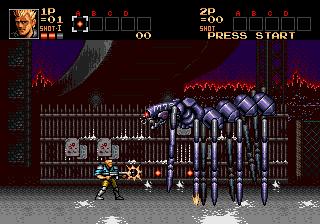 Contra: Hard Corps (SMD)  © Konami 1994   6/8