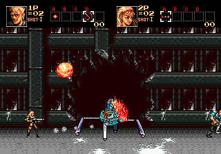 Contra: Hard Corps (SMD)  © Konami 1994   7/8