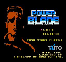 Power Blade (NES)  © Taito 1991   1/3