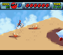 Cool Spot (SNES)   © Virgin 1993    3/3