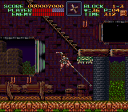 Super Castlevania IV  © Konami 1991  (SNES)   3/4