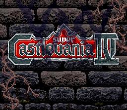 Super Castlevania IV  © Konami 1991  (SNES)   1/4