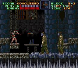 Super Castlevania IV  © Konami 1991  (SNES)   2/4