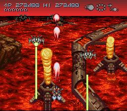 Axelay (SNES)  © Konami 1992   4/5